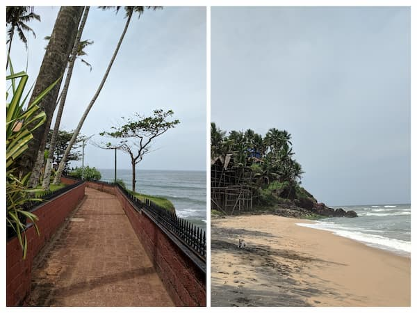 This is near Prasanthi cliff hotel